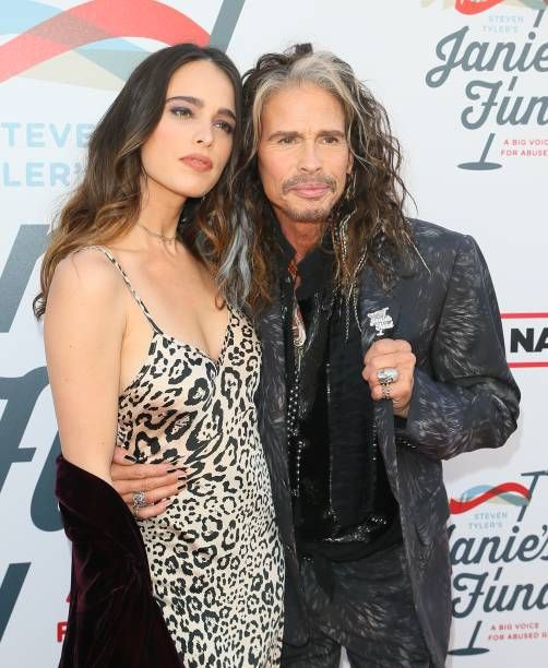 Steven Tyler And Chelsea Tyler At Steven Tyler And Live Nation Presents Inaugural Janie S Fund Gala Grammy Steven Tyler Steven Tyler Aerosmith Chelsea Tyler
