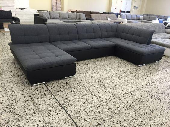 Big Sofa COuch Wohnlandschaft megasofa ottomane RE FINANZIERUNG - big sofa oder wohnlandschaft