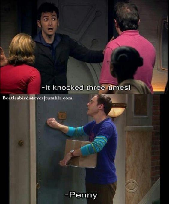 It was Sheldon!