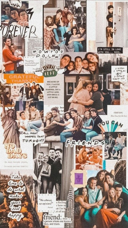 Wallpaper Friends Series Tumblr In 2020 Friends Poster