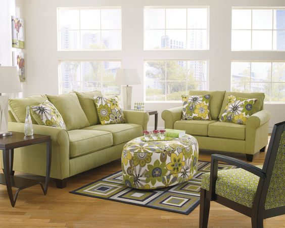 Show Mom how much you love her with a fun living room set from