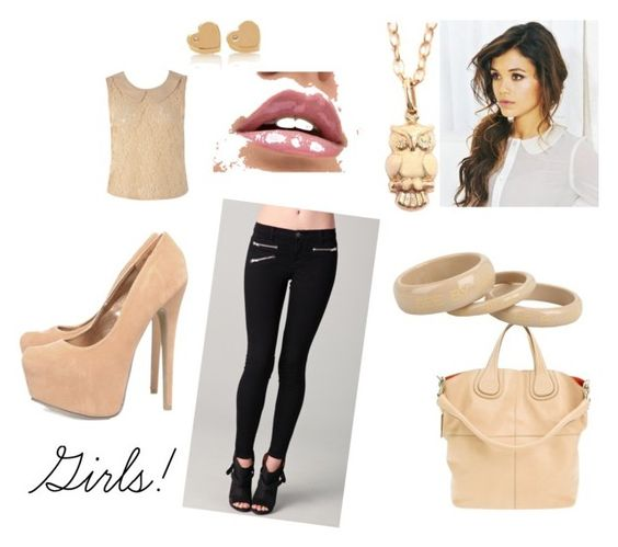 """""""girls!"""" by julii-piinto ❤ liked on Polyvore"""