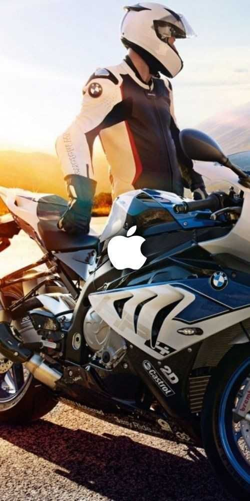 Pin On News Bmw white blue bike android wallpaper