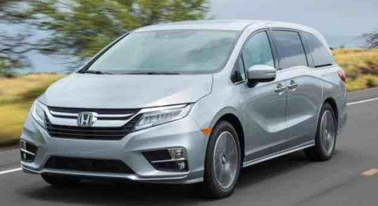 2020 Honda Odyssey Specs Car Us Release Mini Van Honda Odyssey Chrysler Pacifica