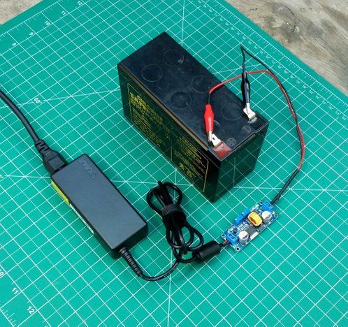 Picture Of How To Make A 12v Battery Charger Electronics Projects Diy Electronics Electronics Projects Diy