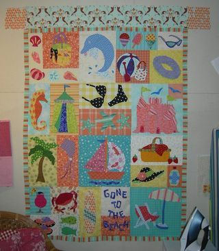 Fleur de Lis Quilts and Accessories: Sunday Quilt Inspiration ... : beach themed quilt patterns - Adamdwight.com