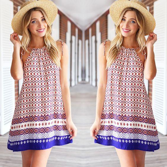 Care Free Dress - fashion. www.psiloveyoumoreboutique.com