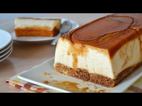 Tarta de Sobaos y Quesitos (sin horno) - YouTube