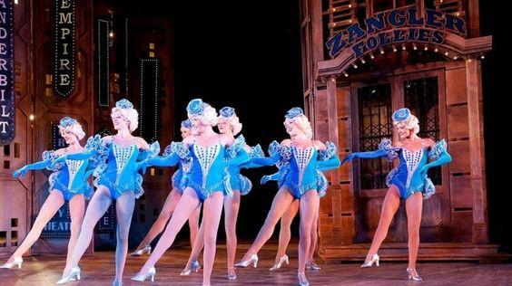 Crazy for You. Novello Theatre. 2012
