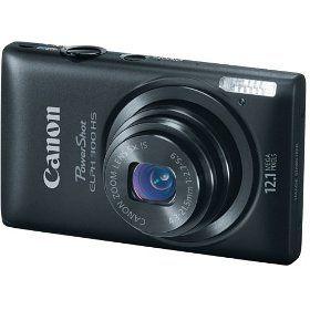 #4: Canon PowerShot ELPH 300 HS 12.1 MP Digital Camera (Black)