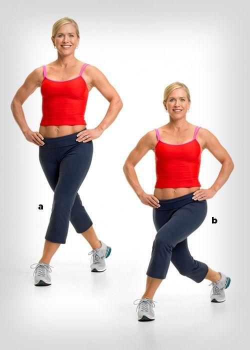 Übungen zum Abnehmen während des Trainings