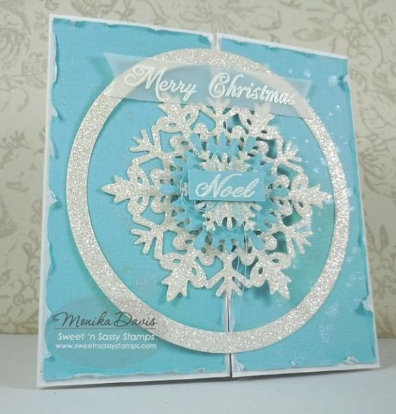 Merry Christmas gate-fold by buzsy - Cards and Paper Crafts at Splitcoaststampers