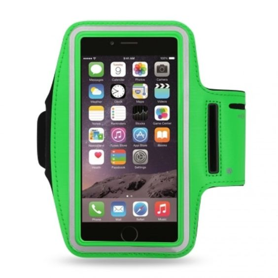 Reiko Sport Armband For Universal 4.7Inch Devices Green