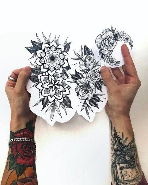 Mandala Tattoo Arm Zarte Spitze Anna Dorina 14