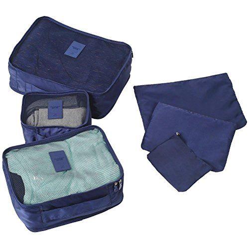 arktek® 6jeux de voyage bagages Organisateurs emballage…