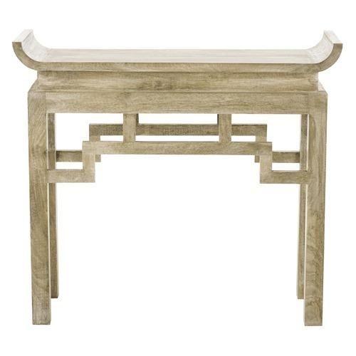 Chen Solid Wood Console - Arteriors   domino.com