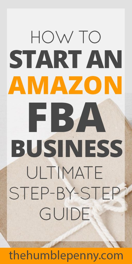 starting an amazon fba business