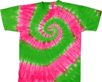 Green And Pink Shirt