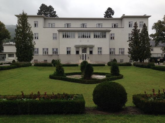 Josef Hoffmann's influential Pukersdorf Sanatorium.