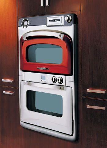 Microwave convection chefs and ovens on pinterest for High end wall ovens