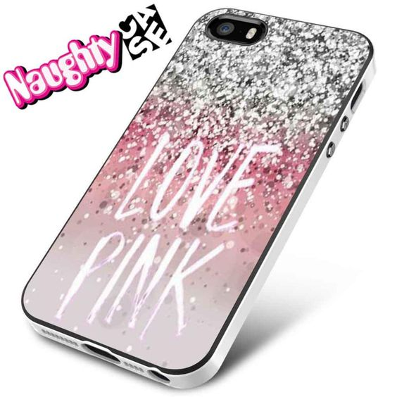 Love Pink Glitter iPhone 4s iphone 5 iphone 5s iphone 6 case, Samsung s3 samsung s4 samsung s5 note 3 note 4 case, iPod 4 5 Case