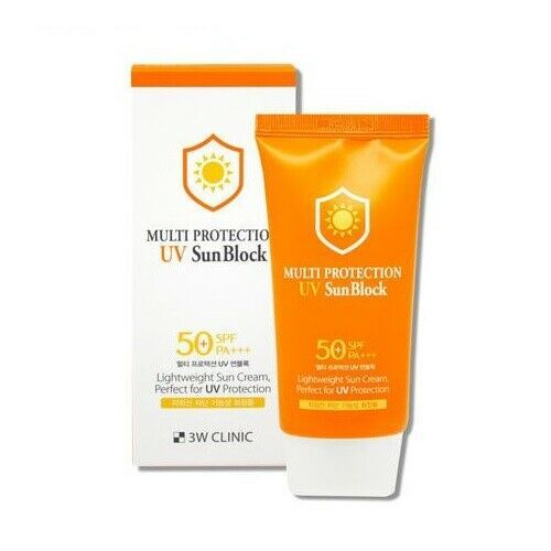 3w Clinic Multi Protection Uv Sun Block 70ml 2 36 Oz Spf50 Pa