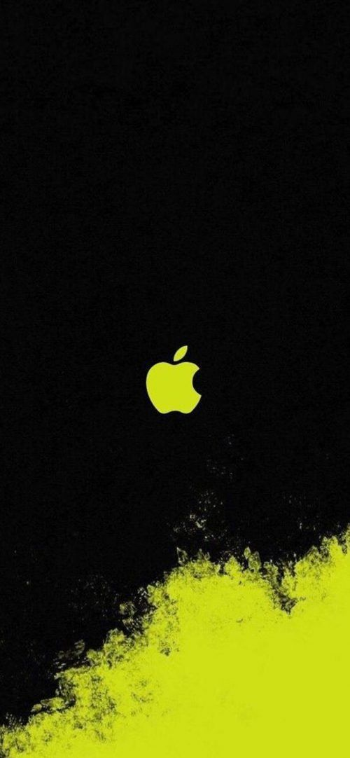 10 Alternative Wallpapers For Apple Iphone 11 10 Black And Yellow Art Apple Logo Hd Wallpapers Wallpapers Download High Resolution Wallpapers In 2020 Yellow Art Apple Logo Wallpaper Iphone Apple Logo Wallpaper