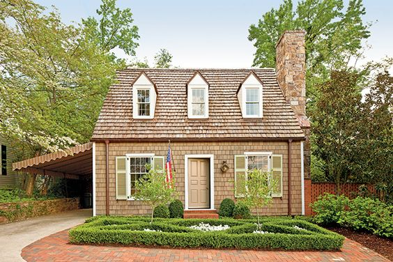 New plan randolph cottage southern living house plans for Maine cottage house plans