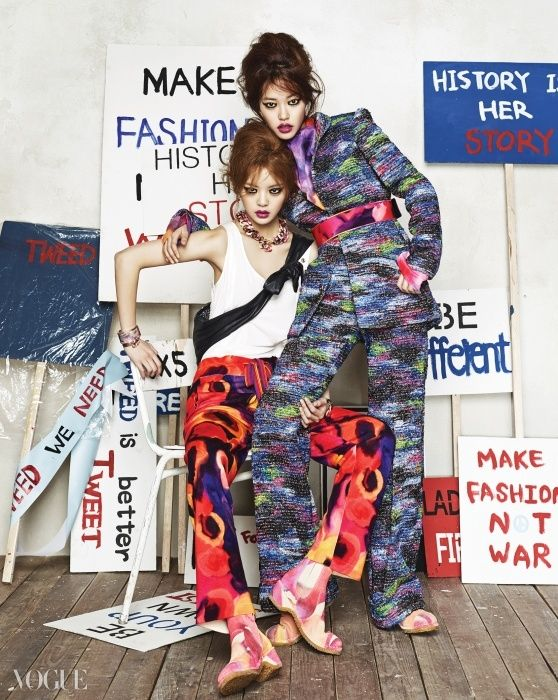 샤넬의 봄 숙녀들 | Vogue.com