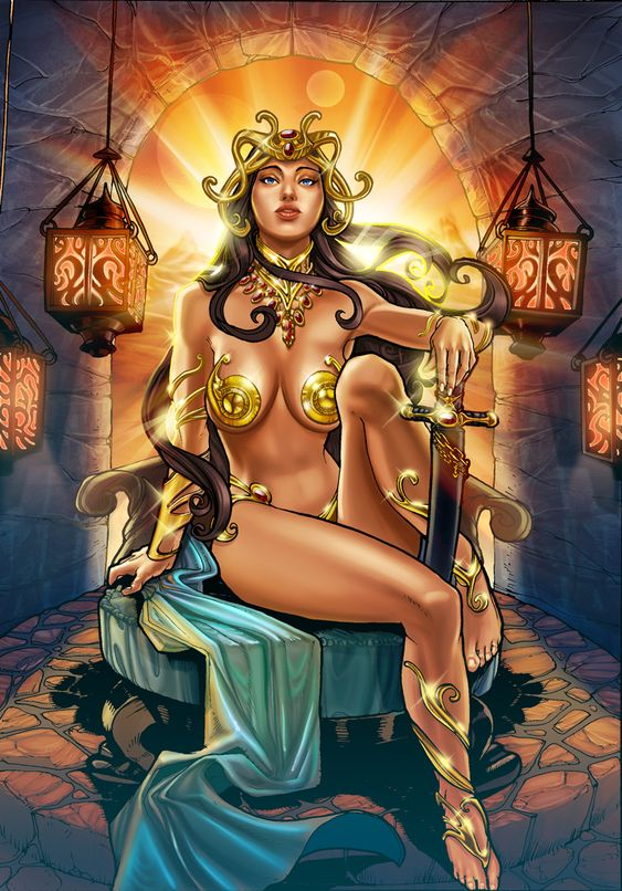 Dejah Thoris of Mars by TyRomsa.deviantart.com on @deviantART