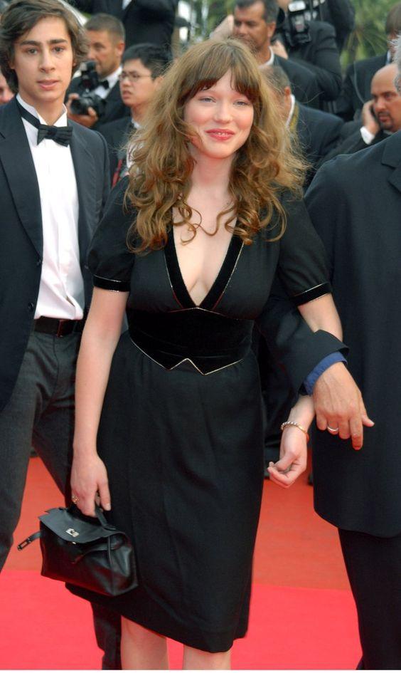 Pin for Later: Retour Sur les Premiers Tapis Rouges de Vos Célébrités Françaises Préférées Léa Seydoux - 2007