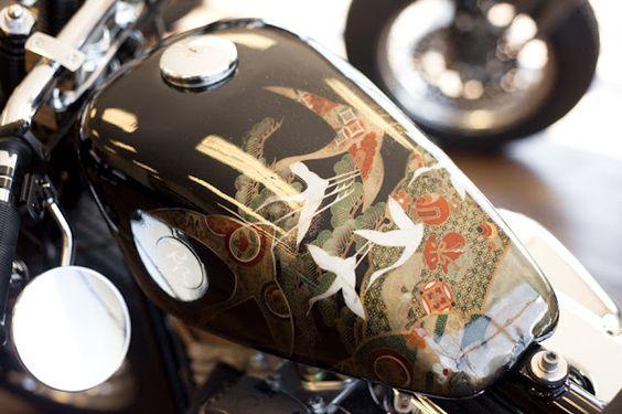 Moto-Mucci: ARTandDESIGN; Zero Engineering - kimono paint job