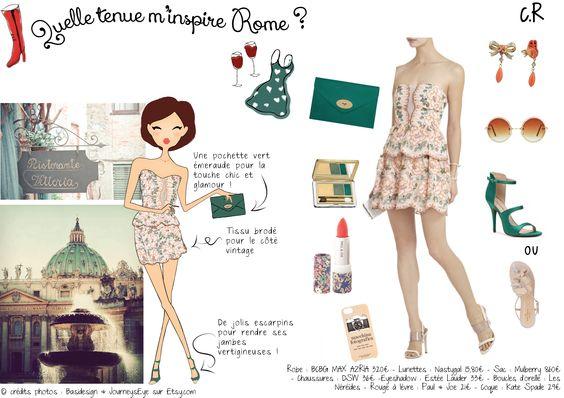 #fashion #BCBGMAXAZRIA #Rome #Italy #clothes #Paul&joe #Mulberry #EstéeLauder #inspiration