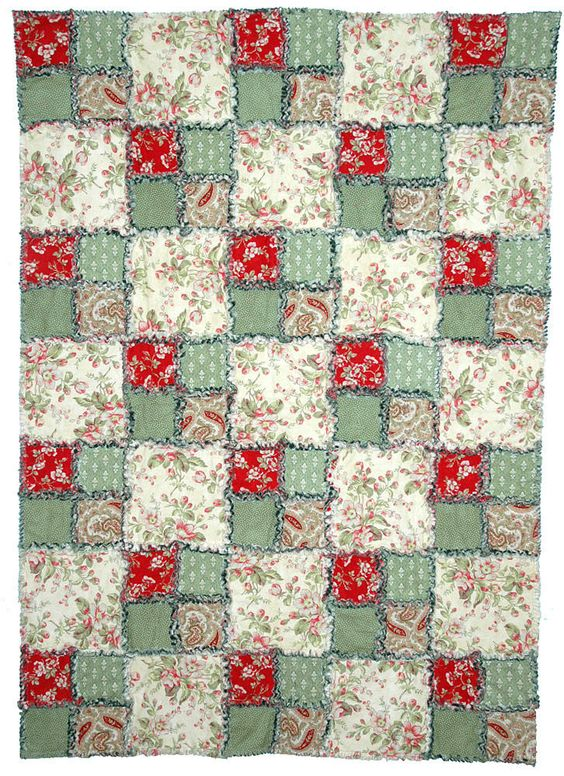 Rag quilt, Quilt patterns and Rag quilt patterns on Pinterest