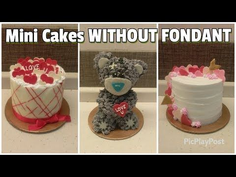 3 Easy And Cute Valentine S Day Cakes Without Fondant Mini
