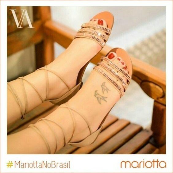 Já sabe onde vai comprar as lindezas do Verão 16 Mariotta? Na loja Varal do Sapato em Ribeirão Preto tem! ;) @varaldosapato #Mariotta #VemVerão