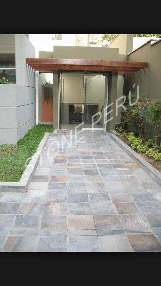 Pisos externos pisos para exteriores pinterest for Pisos de jardines exteriores