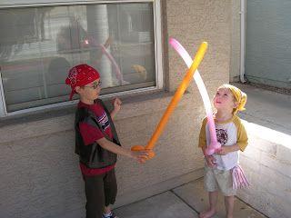 To do - balloon swords