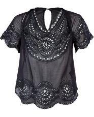 Etoile Isabel Marant black cotton Top $109.00