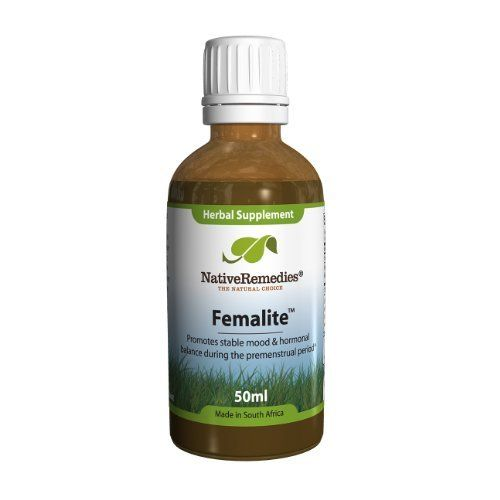 Native Remedies Femalite for Menstrual and Premenstrual Balance (50ml) by Native Remedies. Save 27 Off!. $25.64. Femalite is a 100% natural, safe and proven liquid herbal remedy for emotional and hormonal balance. Femalite is formulated for women by our Clinical Psychologist for use both before and during menstruation. Femalite promotes health and comfort, and helps maintain normal emotional and hormonal balance during the premenstrual period. Femalite is formulated especially for ...