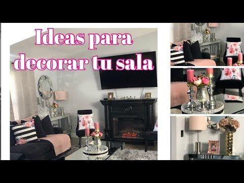 Ideas Para Decorar Una Sala Pequena Elegante 2019 Youtube