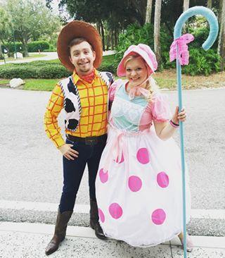 Bo Peep from Toy Story | 28 Alternative Pixar Halloween Costume Ideas