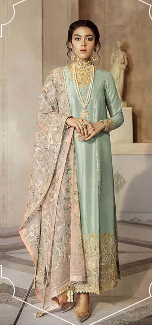 Post Wedding Dinner Dawat Outfit Inspo For Newly Wed Bride Pakistani Formal Dresses Pakistani Dress Design Dress Indian Style