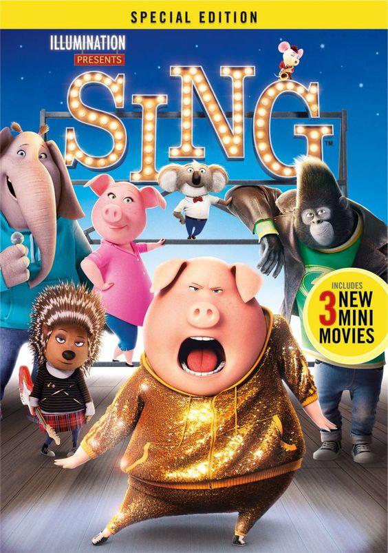 MOVIE BUZZ: SING SPECIAL EDITION HITS DIGITAL HD 3/3 & BLU-RAY 3/21 #SINGMOVIE #SINGSQUAD