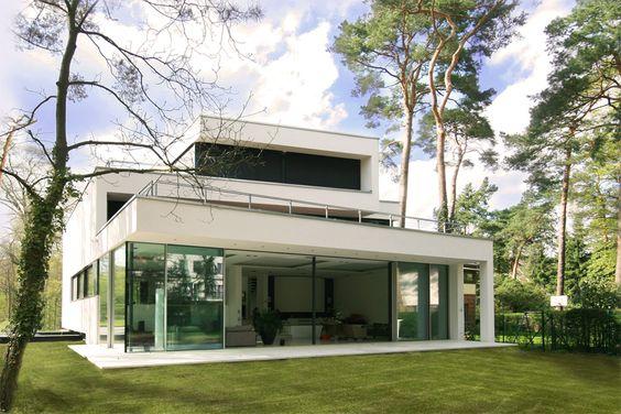 Moderne villen von innen  moderne Villen by http://www.flow-architektur.de | Moderne ...
