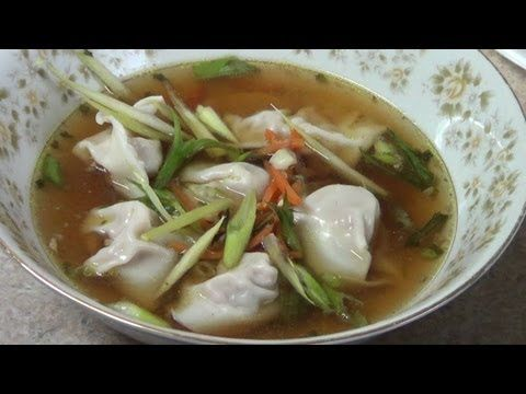 Como hacer dumplings - YouTube