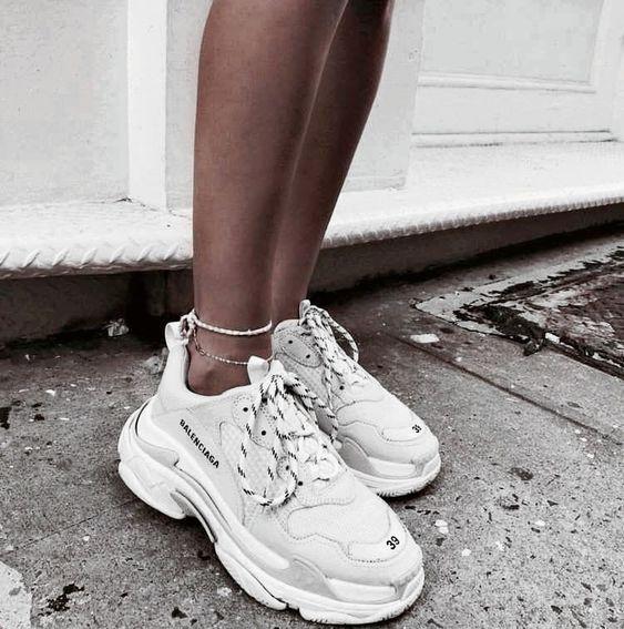 Nouveau Luxe Createur COMPENSES Sport Sneaker Femmes Talon compense Baskets Chaussures Femmes