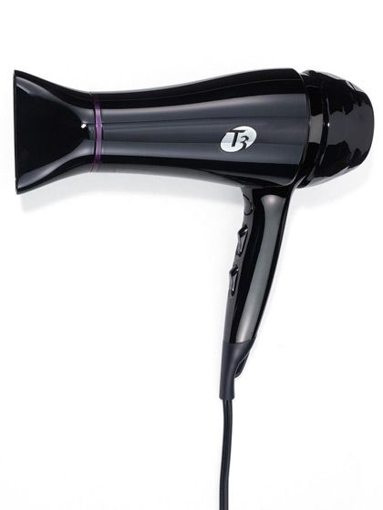 Here's how to do it like a pro: Start with a high-wattage ionic blow-dryer, like this T3 Featherweight 2 Dryer. It will reduce frizz by compressing the cuticle, which locks out puff-inducing moisture. (It will also cut drying in time in half—nice.) Set it on medium heat, since high heat causes the cuticle to swell; if your hair is curly, use a diffuser to dry curls evenly.  Style hair with a brush made of boar and nylon bristles—boar bristles help distribute natural oils and product…