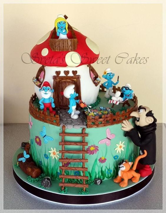 Cake By Design Aberdeen : The smurfs and The o jays on Pinterest
