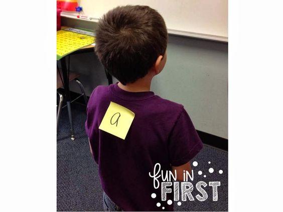 Simple Five Minute Game - Fun in First Grade